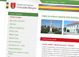 City district of Bratislava-Podunajské Biskupice