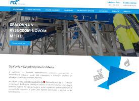 FCC Environment - The incinerator in Kysucké Nové Mesto